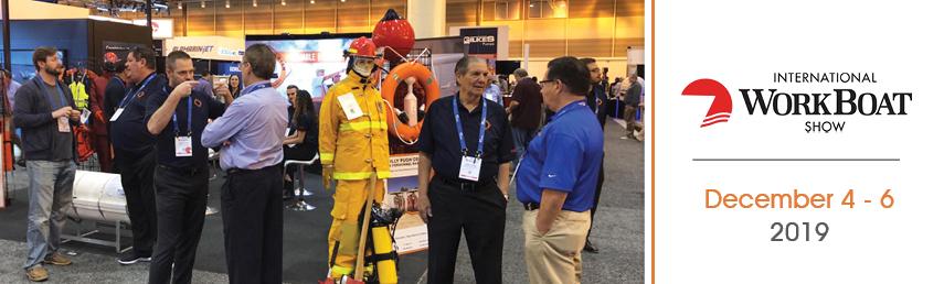 Alexander/Ryan Marine & Safety participated at the International Workboat Show 2019!