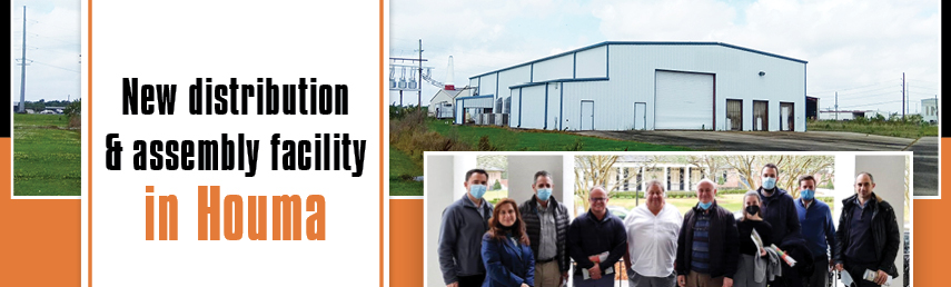 New distribution & assembly facility in Houma
