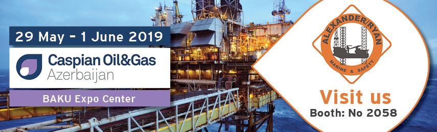 Alexander/Ryan Marine & Safety at Caspian Oil & Gas 2019