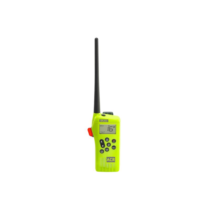 [080-BOAT0005] SR203 Survival Radio Kit, VHF Multi-Channel. image