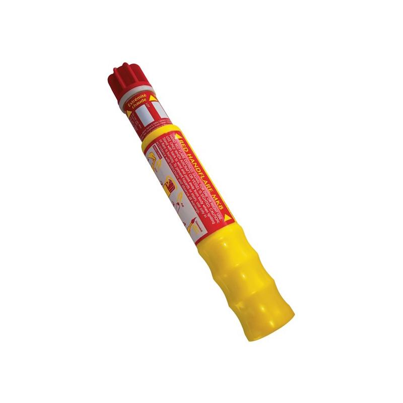 [080-FLAR0028] Red Handflare Mk8 Eng image
