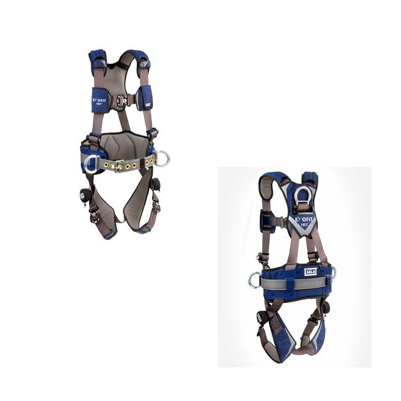 [080-HARN0002] 3M™ DBI-SALA® ExoFit NEX™ Construction Style Positioning Harness 1113124, Medium image