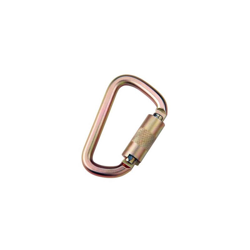 [080-HOOK0010] 3M™ DBI-SALA® Saflok™ Carabiner 2000112, Yellow Zinc image