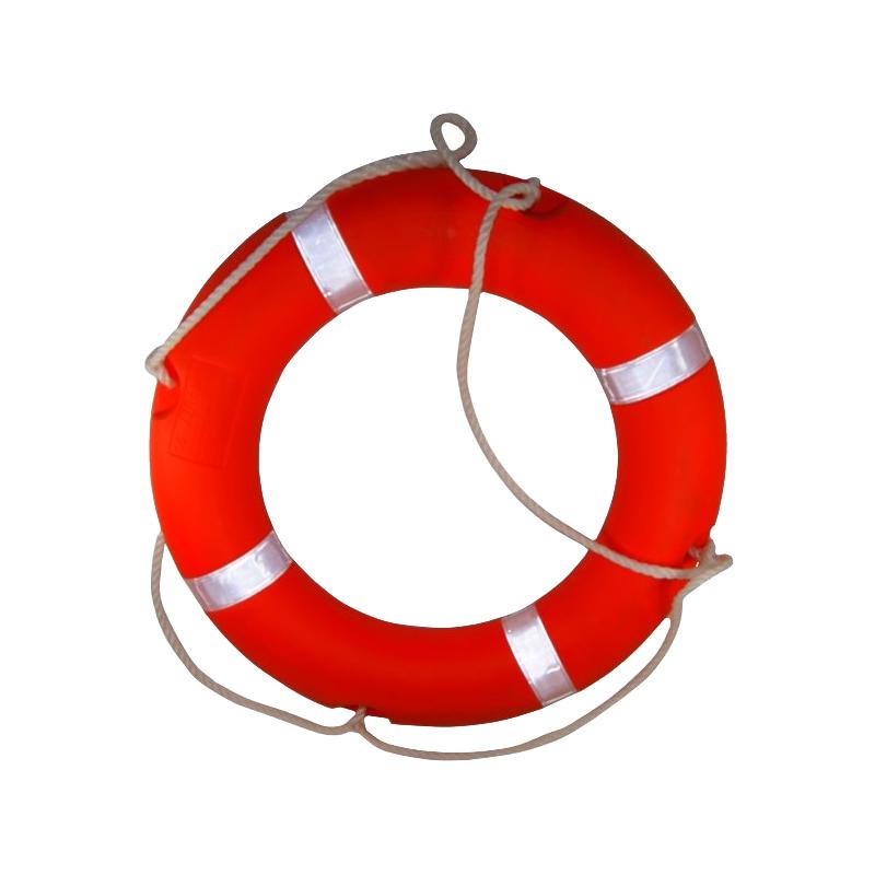 "[080-JACK0050] Life Ring Buoy – SOLAS (w/Tape) – 30"" image"