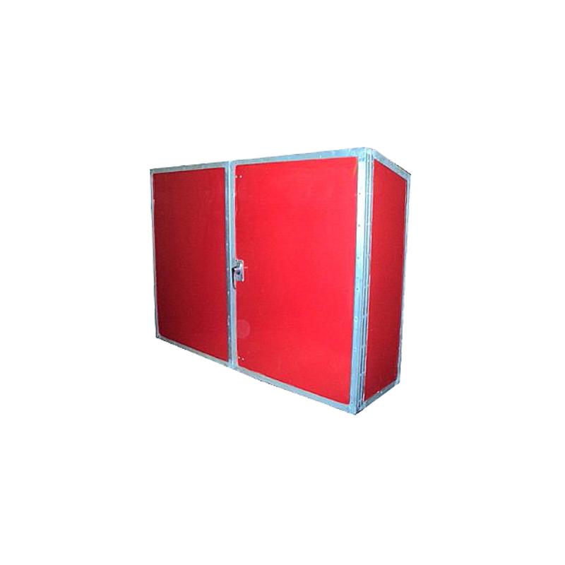 "[110-BOXS0033] Fiberglass boxes - Lifepreserver boxes 53 3/4""x44 3/8""x27 / 75 work vests  WORK VESTS image"