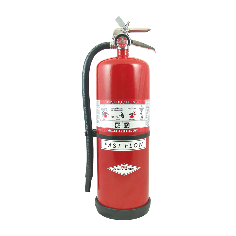 [20829] High Performance Dry Chemical 20 LB Purple K Hose & Nozzle Hand Portable Extinguisher, Compliance Flow image