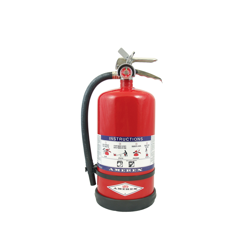 [20831] High Performance Dry Chemical 30 LB Purple K Hose & Nozzle Hand Portable Extinguisher, Fast Flow image