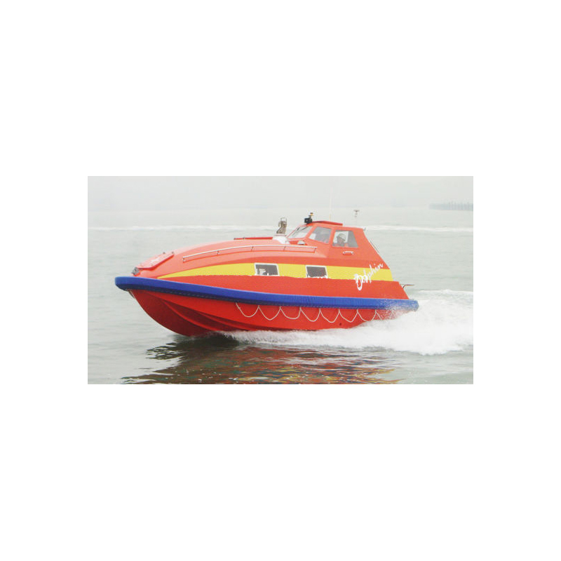 [20833] Dolphon Fast Rescue Craft, Solas 30 person, GOM 24 person (Speed with crew - >20 knots, max load @SOLAS 30 - >9 knots, max load @ GOM 24 - >9 knots image