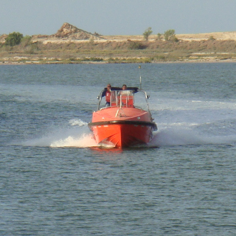 [20834] Fast Rescue Boat, Solas 12, GOM 9 Single Point Pickup, >20 knots image