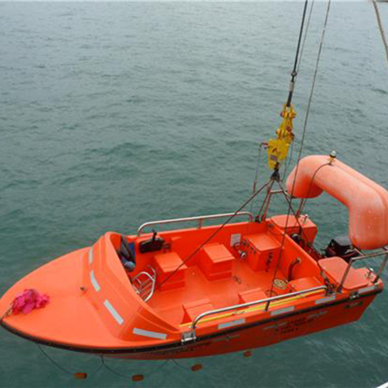 [20837] Rescue Boat, Solas 6, GOM 6, Single point pickup, 6 knots  image