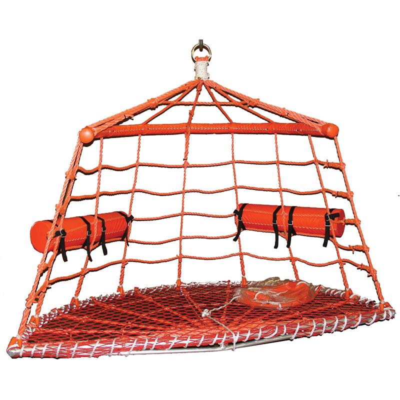 [20862] Boat Rescue Net, aluminum frame image
