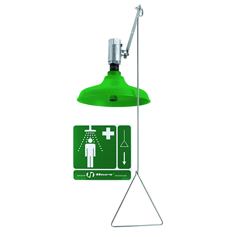 [20916] Drench Shower AXION® MSR ABS & PVC shower, horizontal or vertical mount image