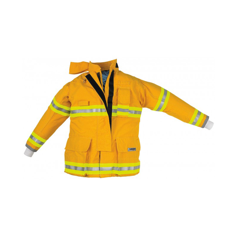 "[20919] OSX A10 Coat, 35"" Yellow NOMEX OSX A10 Coat image"