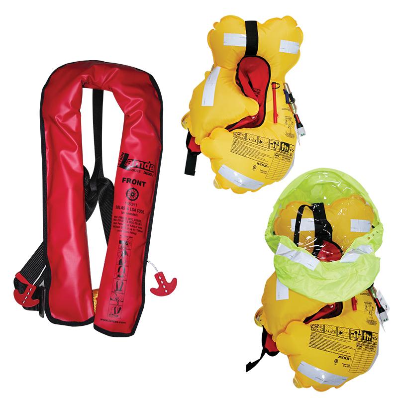 [71107] LALIZAS Inflatable Lifejacket Lamda Auto 150N,  SOLAS image