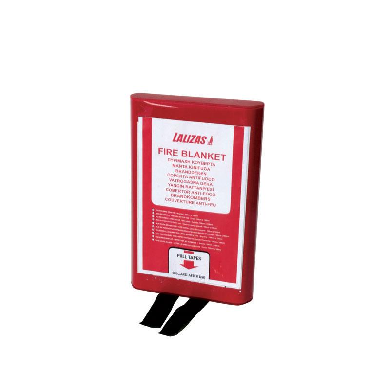 [71298] LALIZAS Fire blanket 120x180cm in a PVC case image