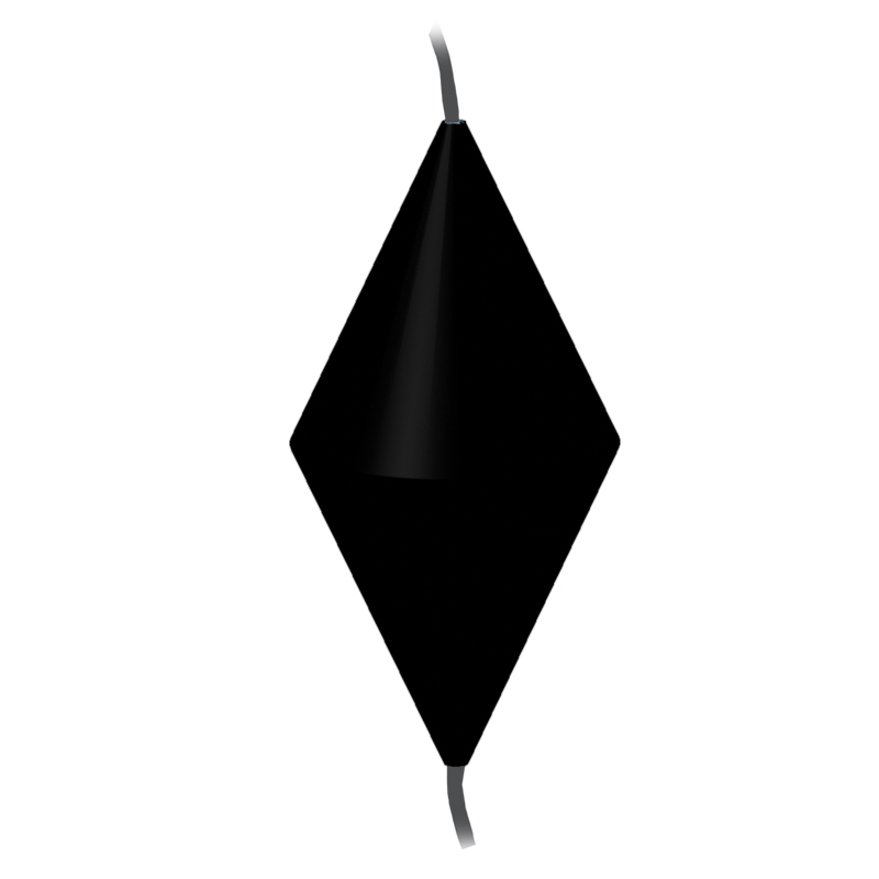 [72732] Day signal diamond,1200x600mm,black image