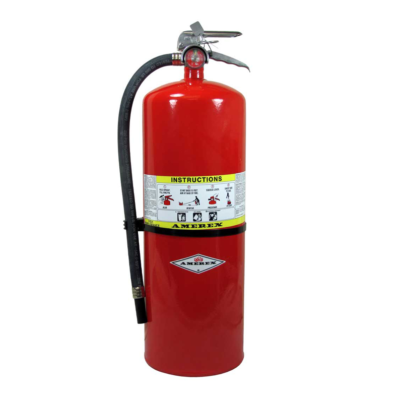 [20827] Amerex High Performance ABC Dry Chemical Extinguisher 20lb, Compliance Flow, Model 564 image
