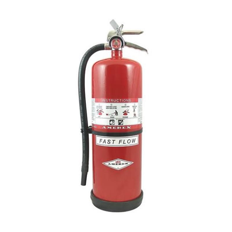 [20828] Amerex High Performance Purple K Dry Chemical Extinguisher 20lb, Compliance Flow, Model 566 image