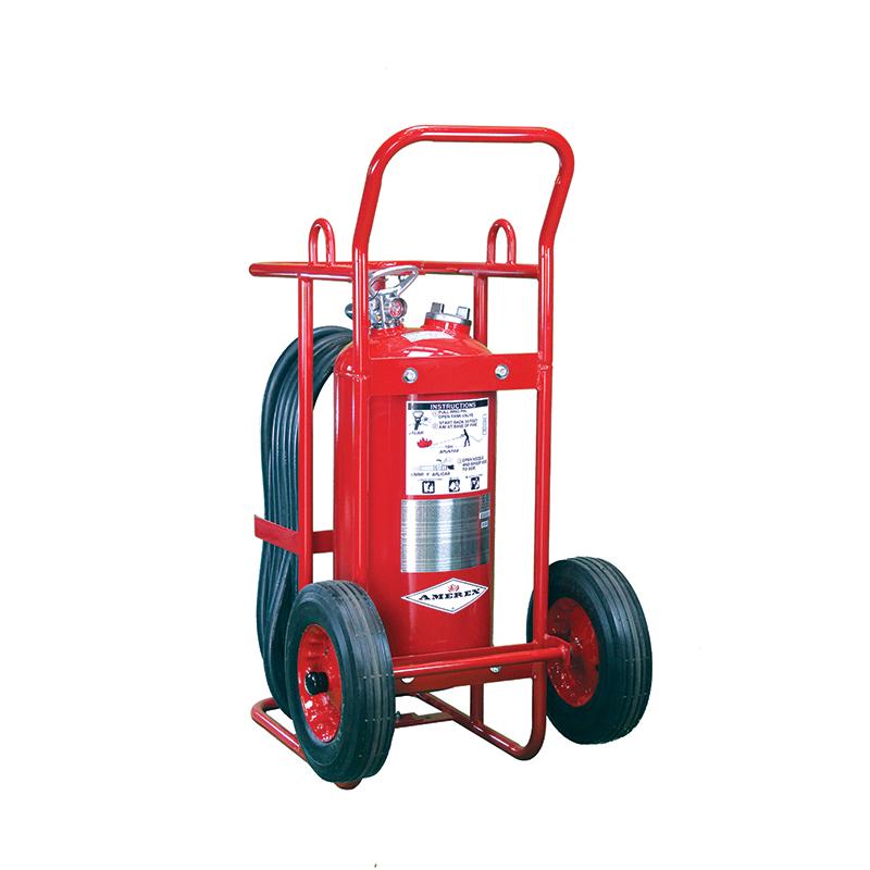 [20832] Amerex Wheeled Stored Pressure - Dry Chemical, 50lb Purple K 12'' wheels, Model 497 image