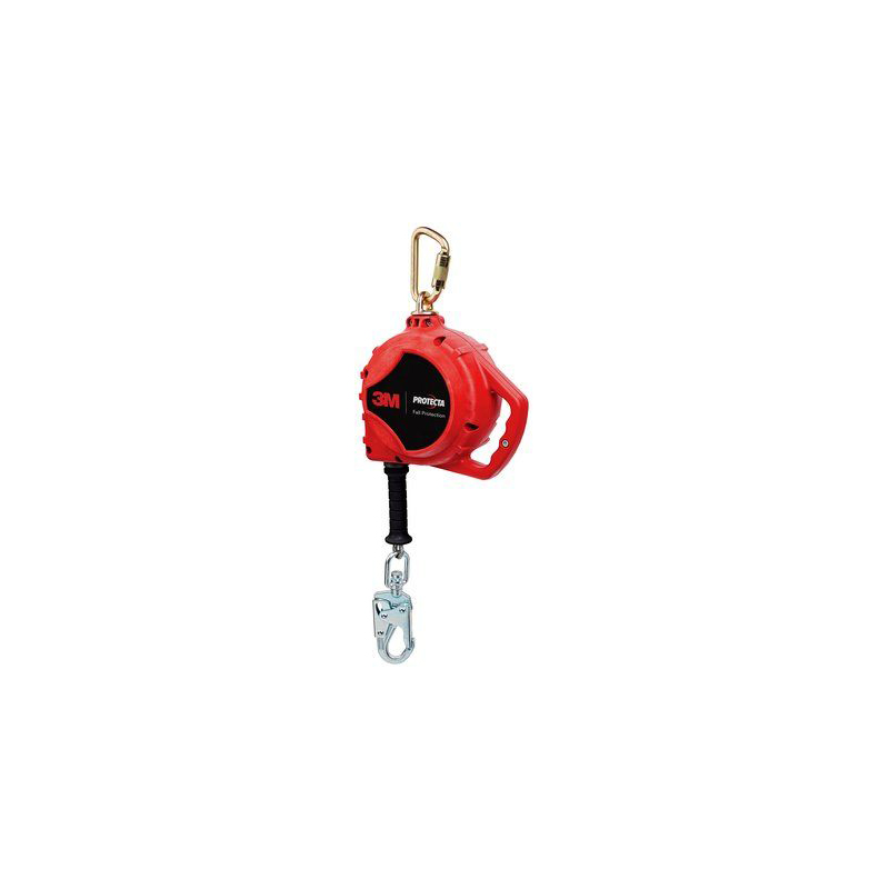 [20896] 3M™ PROTECTA® Rebel™ Self Retracting Lifeline - Cable 3590517, Red, 20 ft. (6.1 m), 1 EA/Case image