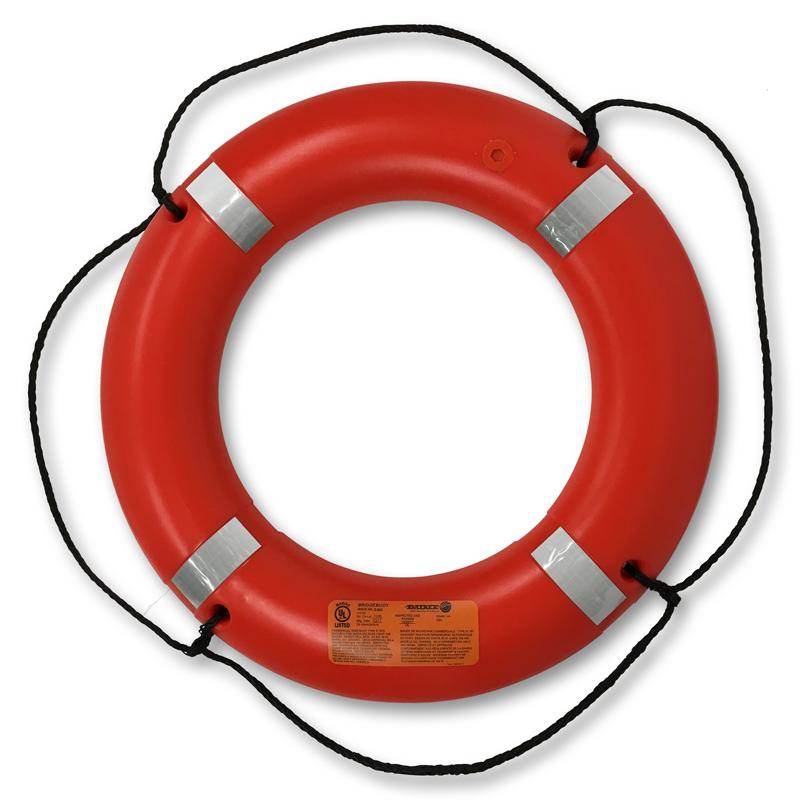 "[21392] Datrex Lifebuoy Ring 30'' w/Reflective tape ""DECKBUOY"", 2.5kg USCG/SOLAS/MED/TC image"