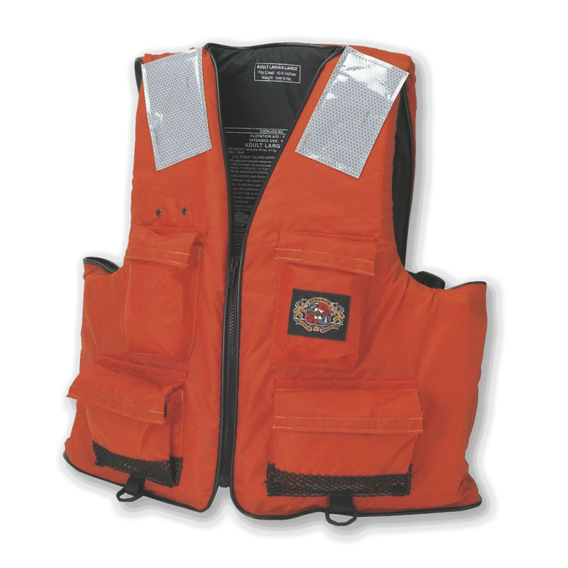 [21365] Stearns Pfd I422 Ind First Mate Large/X-Large Org Ovs C006 image