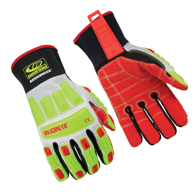 [25390] Ringers Gloves ''Roughneck'', Cut Level 3, Vented Mesh, XXXLarge image
