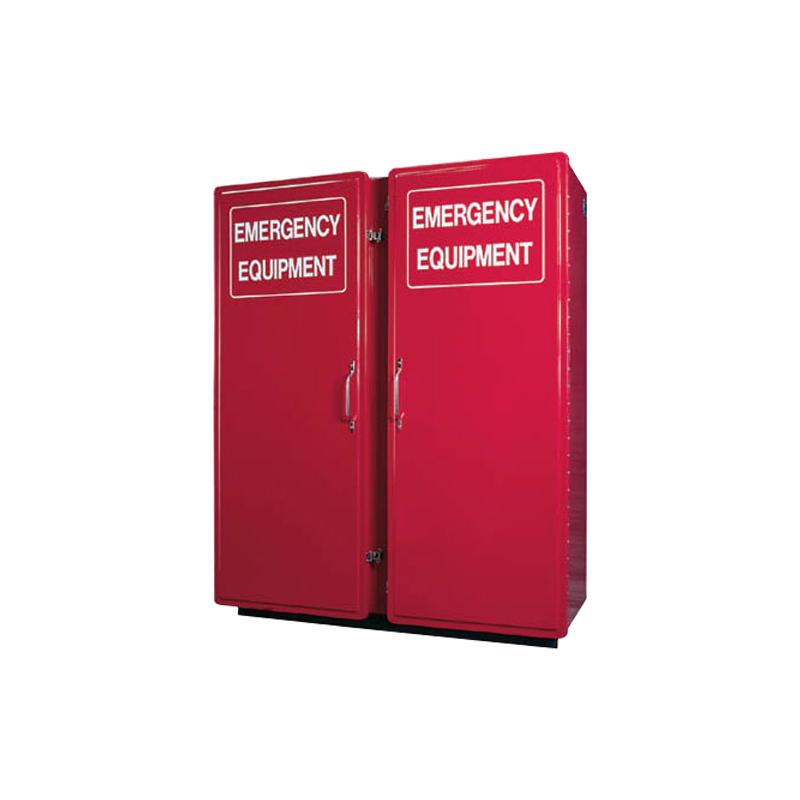 [26239] Thomas Products, Large Fiberglass Storage Cabinet, 72'' x 62'' x 30'' image