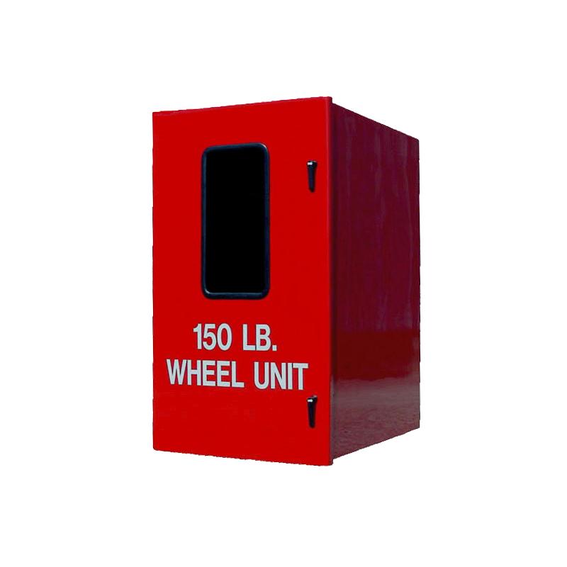 [26240] Thomas Products, Fiberglass Wheel Unit Cabinet 58'' x 34'' x 42'' image