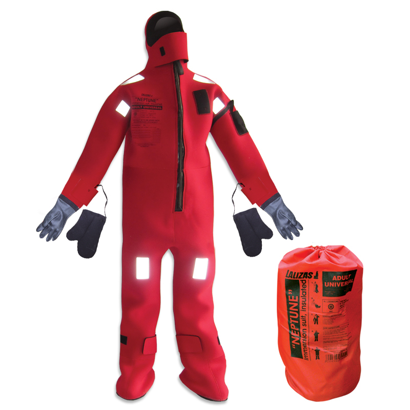 [70457] LALIZAS Immersion Suit 'Neptune',SOLAS,Universal, Insulated - with rubber gloves image