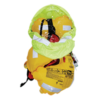 [72115] LALIZAS Infl.Lifejacket Adv.Lamda Auto 330N w/spray hood, SOLAS/MED,w/crotch image