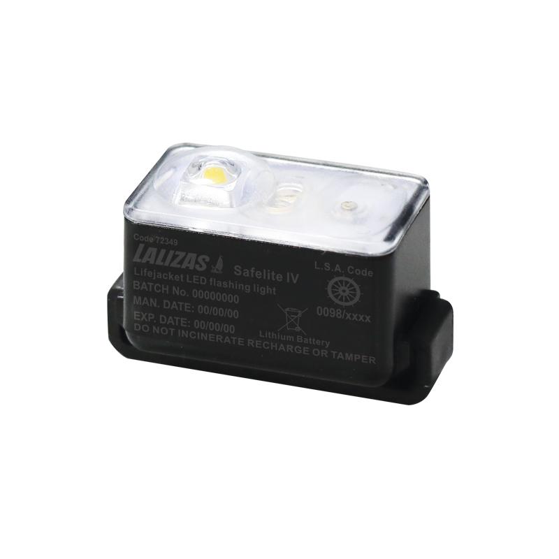 "[72349] LALIZAS Lifejacket LED flashing light ""Safelite IV"" ON-OFF water activated, USCG/SOLAS/MED image"