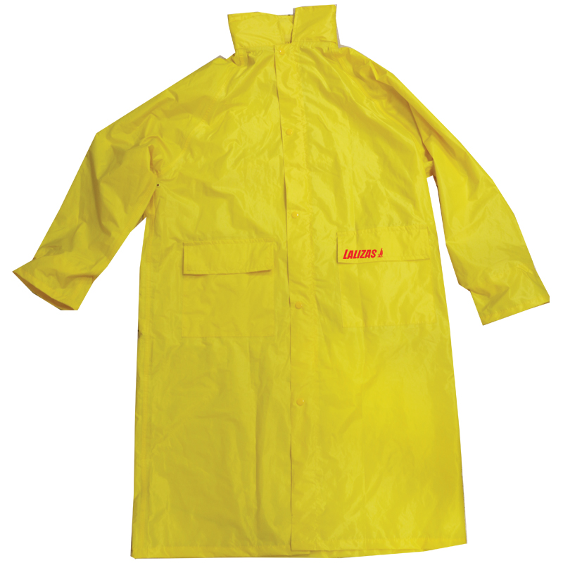 [73677] LALIZAS Raincoat w.Hood,yellow, S image