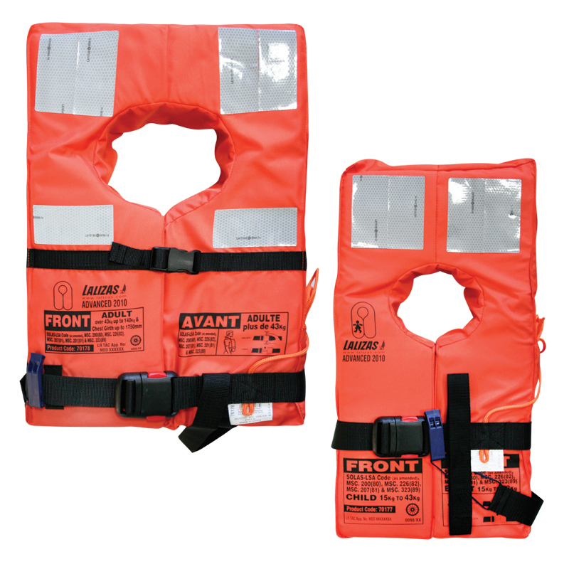 Advanced Lifejacket SOLAS-(LSA Code) 2010 image