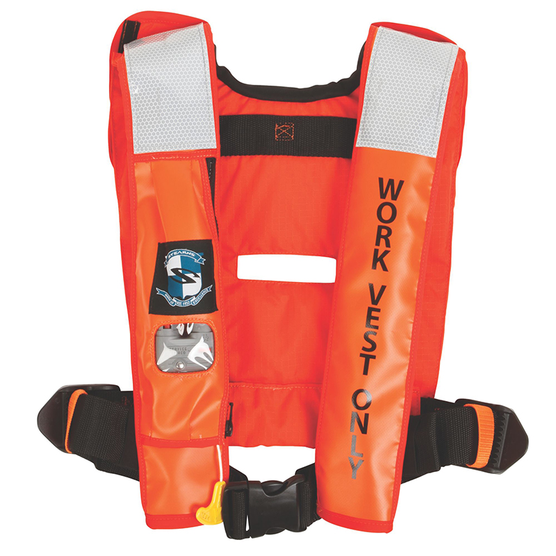 PFD 1471 IND INFLATBLE AUTO 38G ORG C004 image