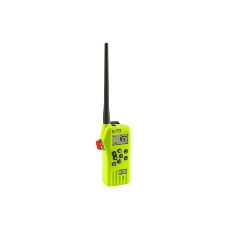 SR203 Survival Radio, VHF Multi-Channel. image