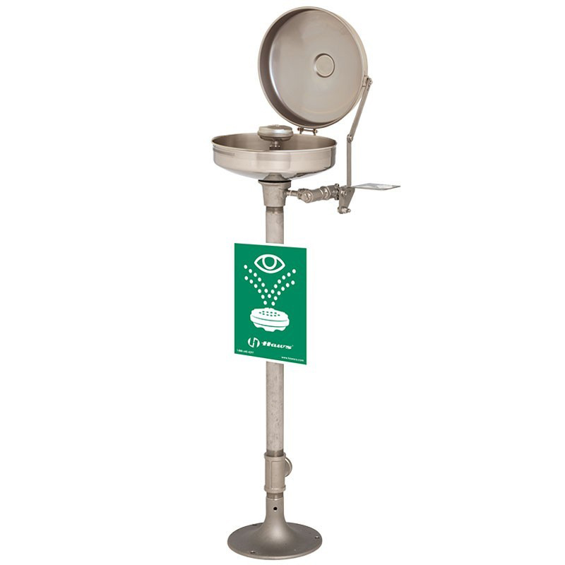 All Stainless Steel Bowl Eye/Face Wash Series AXION® MSR pedestal-mounted, all stainless steel eye/face wash image