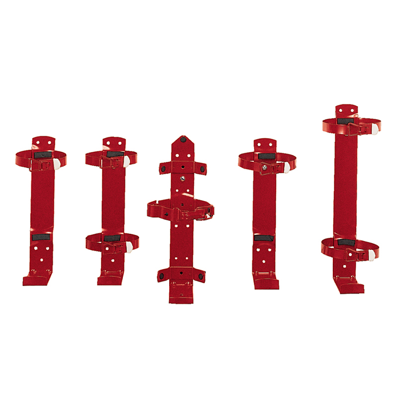 Brackets (Galvanized & Painted Red) W/Locking Pin, Heavy Duty image