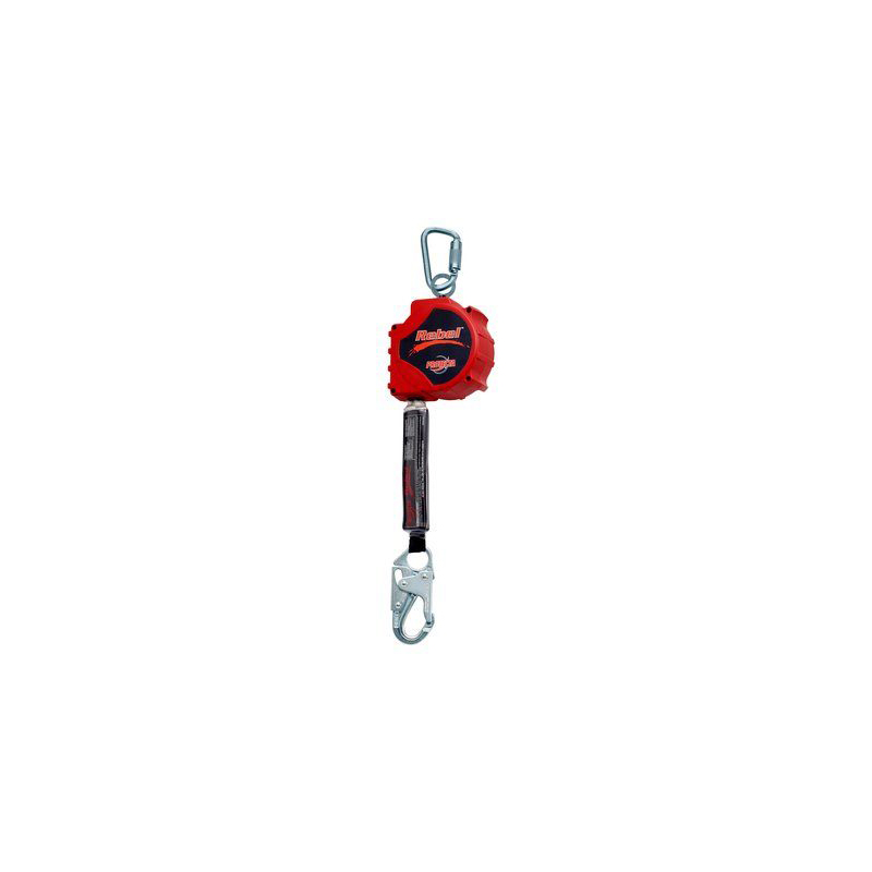 3M™ PROTECTA® Rebel™ Self Retracting Lifeline - Web 3100431, Red, 20 ft. (6.1 m), 1 EA/Case image