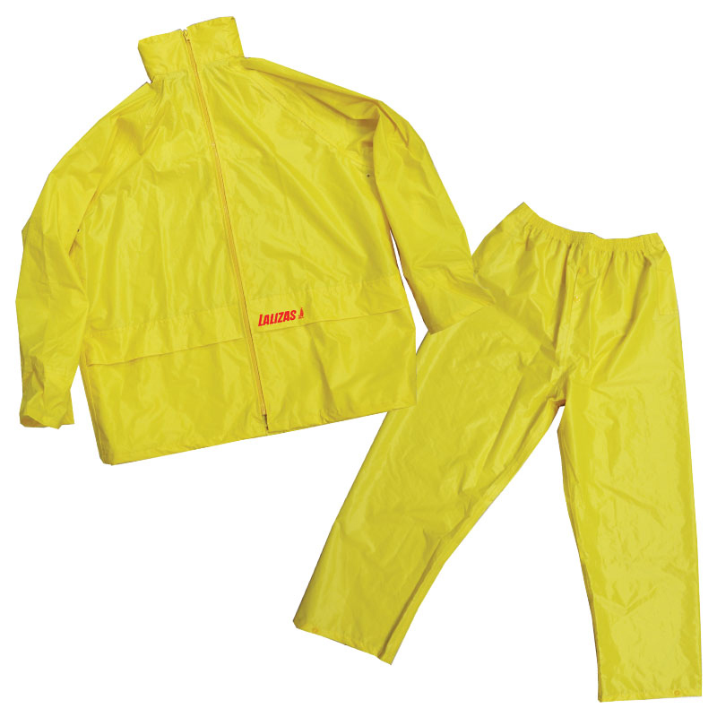 LALIZAS Rainsuit with Hood, yellow image