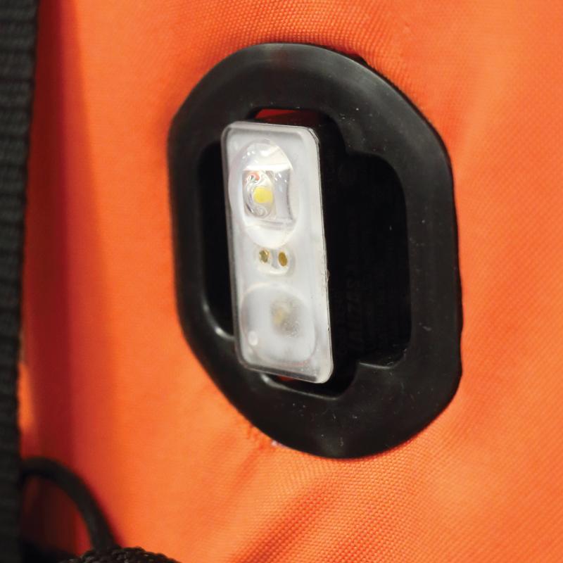 "LALIZAS Lifejacket LED flashing light ""Safelite  IV"" ON-OFF water activated, USCG, SOLAS/MED thumb image 1"