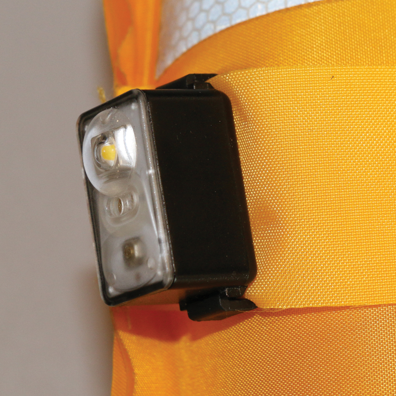 "LALIZAS Lifejacket LED flashing light ""Safelite  IV"" ON-OFF water activated, USCG, SOLAS/MED thumb image 4"