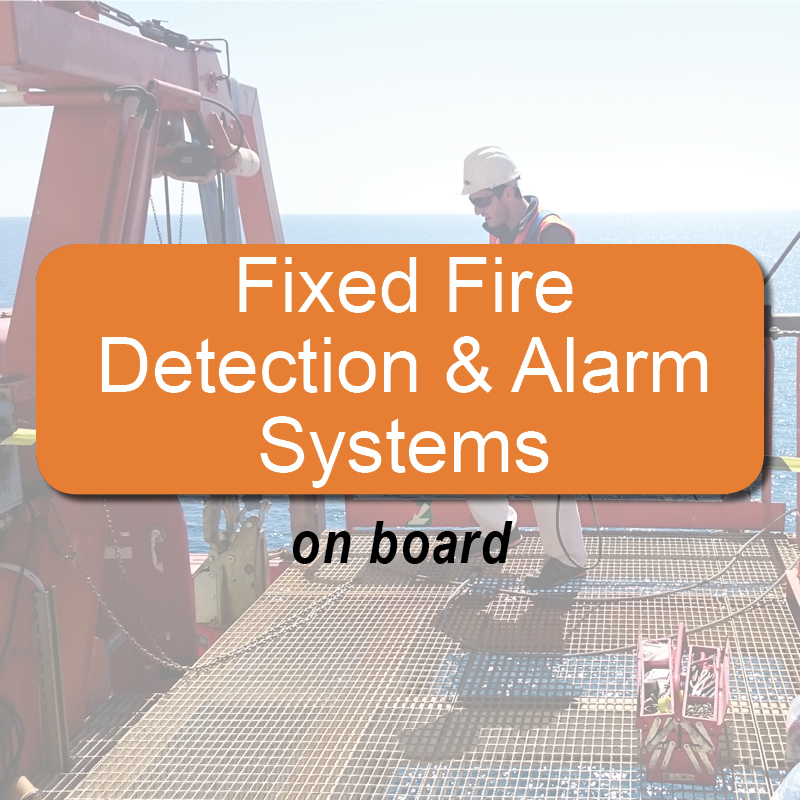 Fixed fire detection and alarm systems - on board image