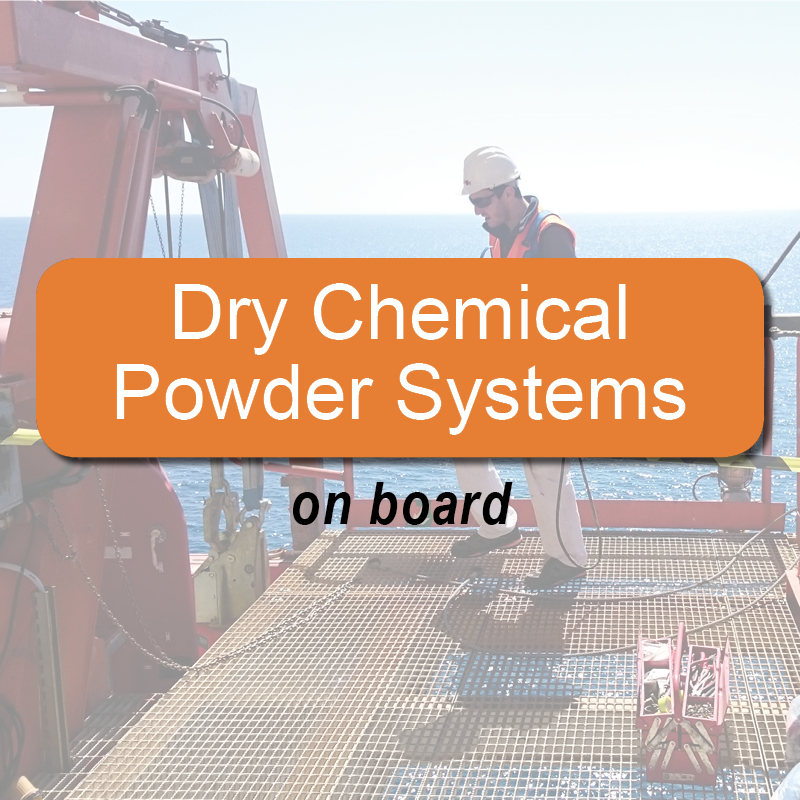 Dry chemical powder systems - on board image