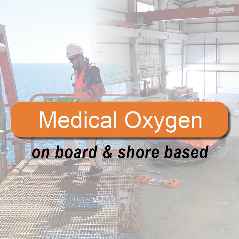 Medical Oxygen - on board & shore based image