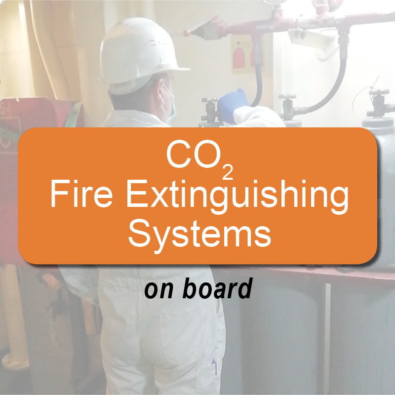 CO2 fire extinguishing systems - on board image