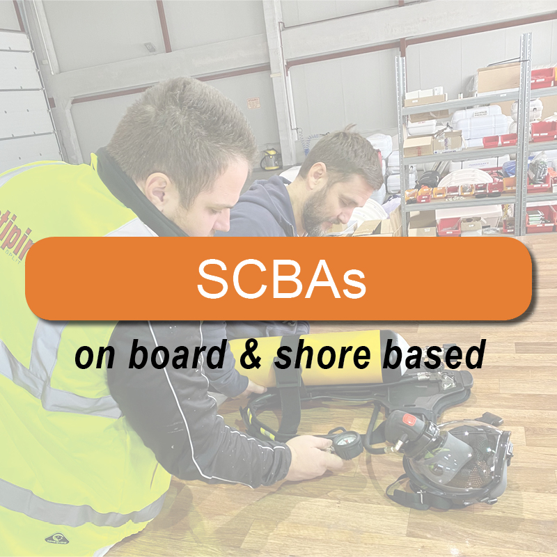 SCBAs - on board & shore based image