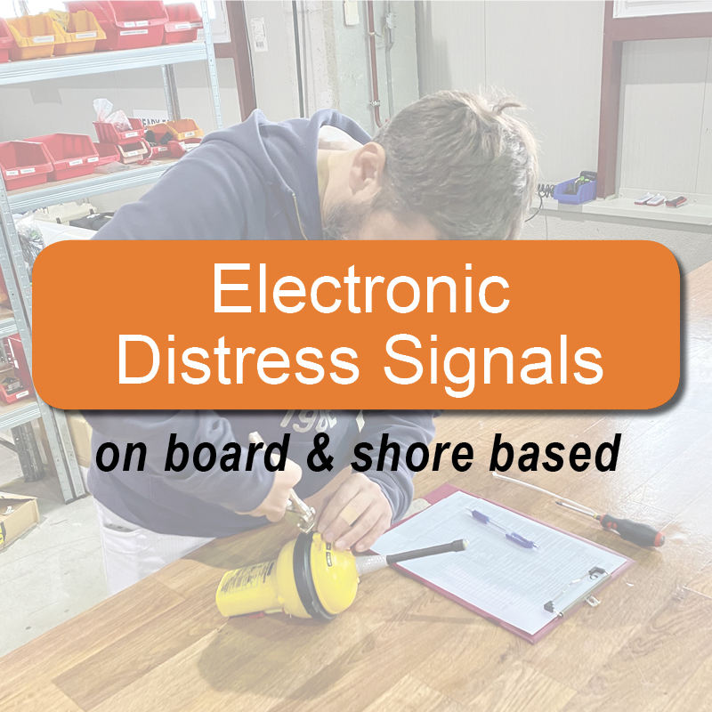 Electronic Distress Signals - on board & shore based image