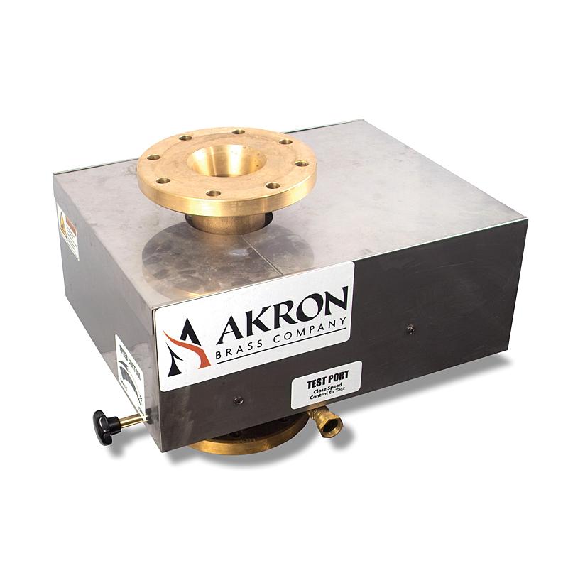 Akron Oscillating Flange for Brass Monitor 4'' Flange x 4'' Flange Unpainted image