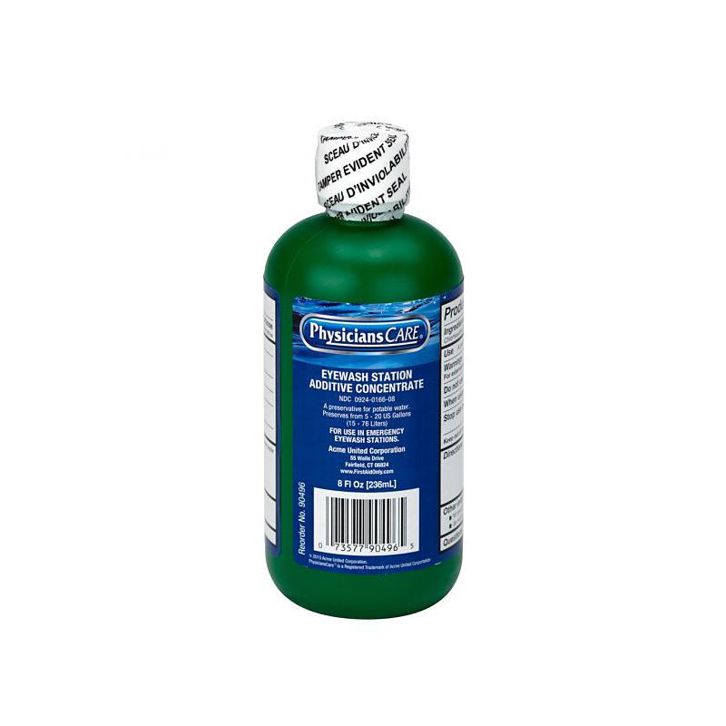 First Aid Only Eyewash Additive, 8 Oz. Bottle image